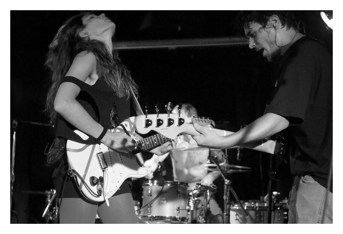 L-R: Olivia Merilahti & Dan Levy (photo by Andre Gabb)