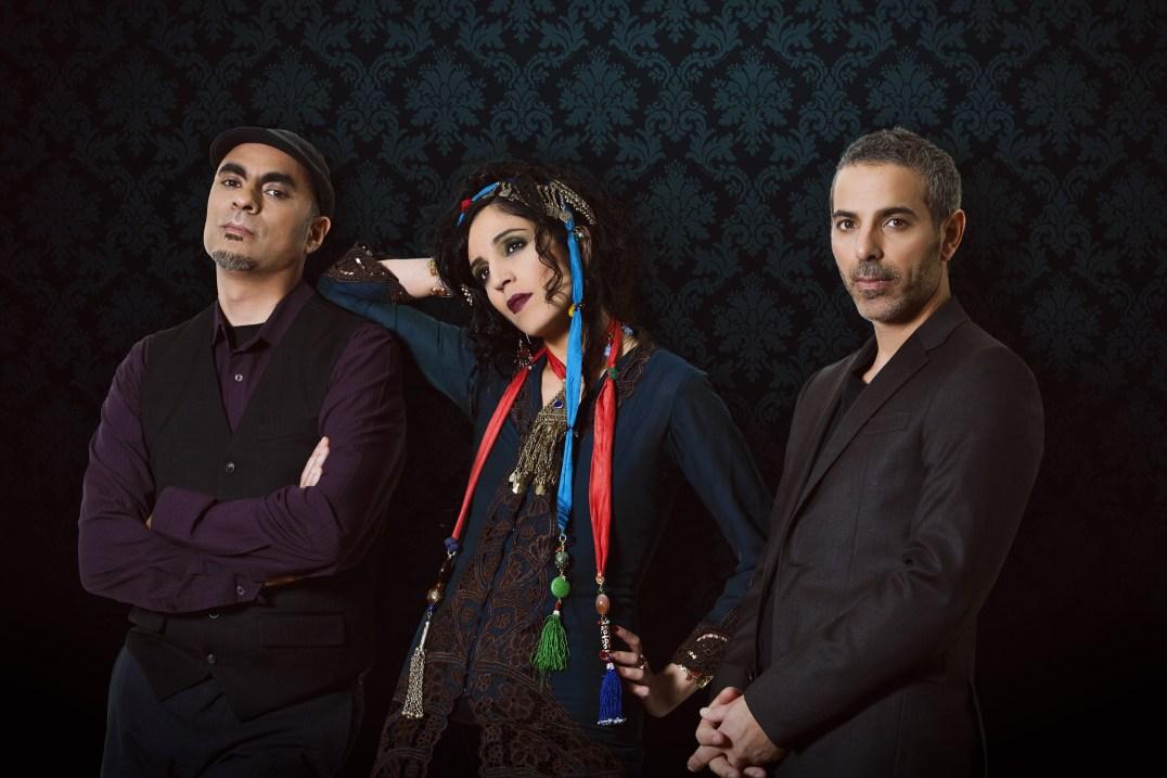 L-R: Loga Ramin Torkian, Azam Ali, Carmen Rizzo