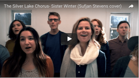 Video Premiere via Flood Mag: The Silver Lake Chorus – Sister Winter (Sufjan Stevens Cover)
