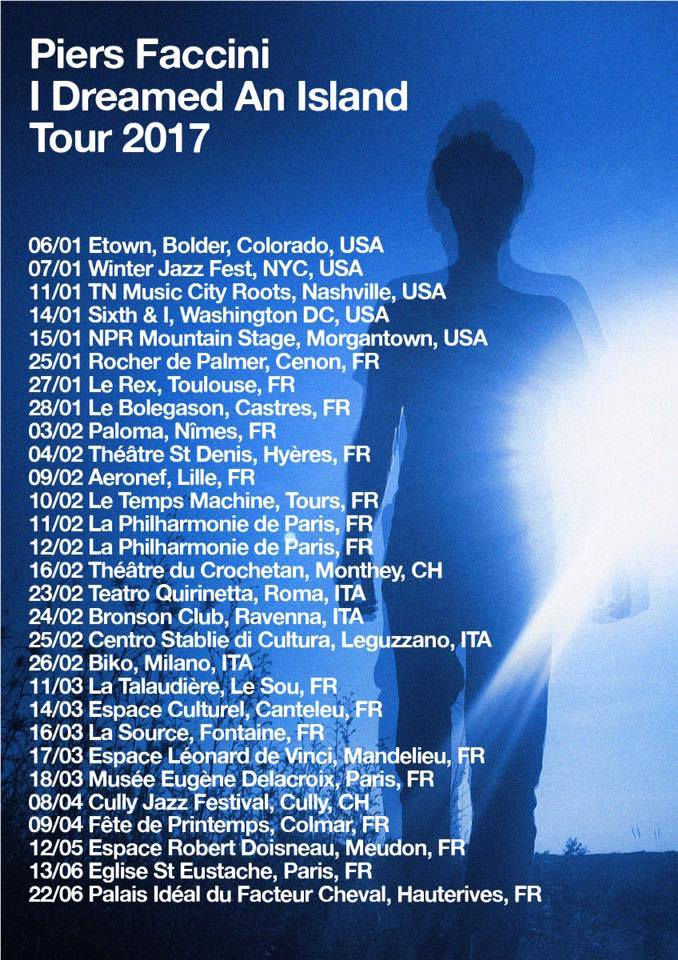 Piers Faccini is in the USA as part of his World Tour