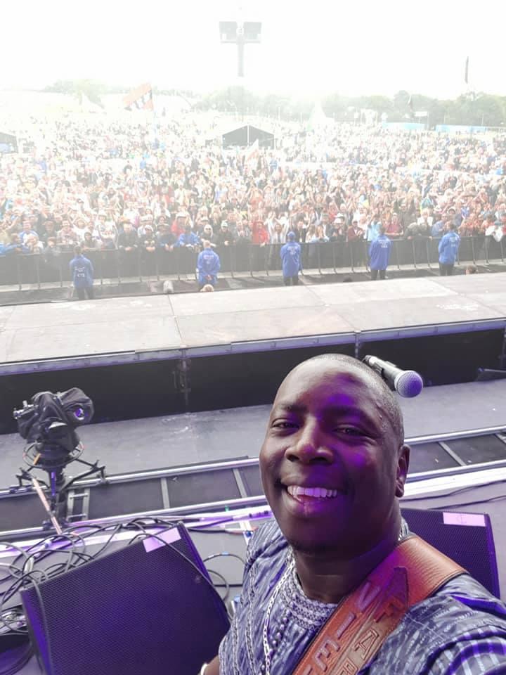 Vieux Farka Touré at Glastonbury