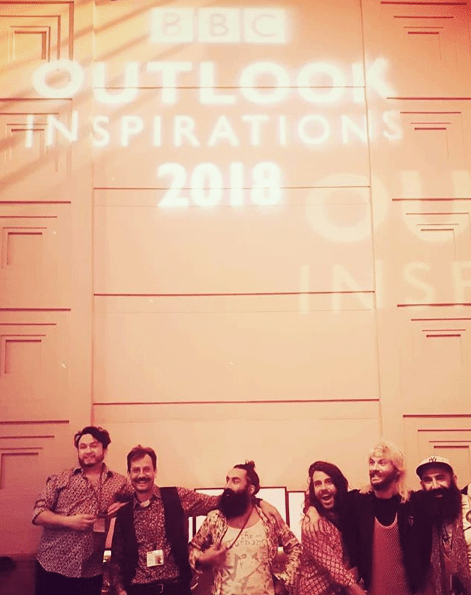 The Turbans Live On BBC Outlook Inspiration