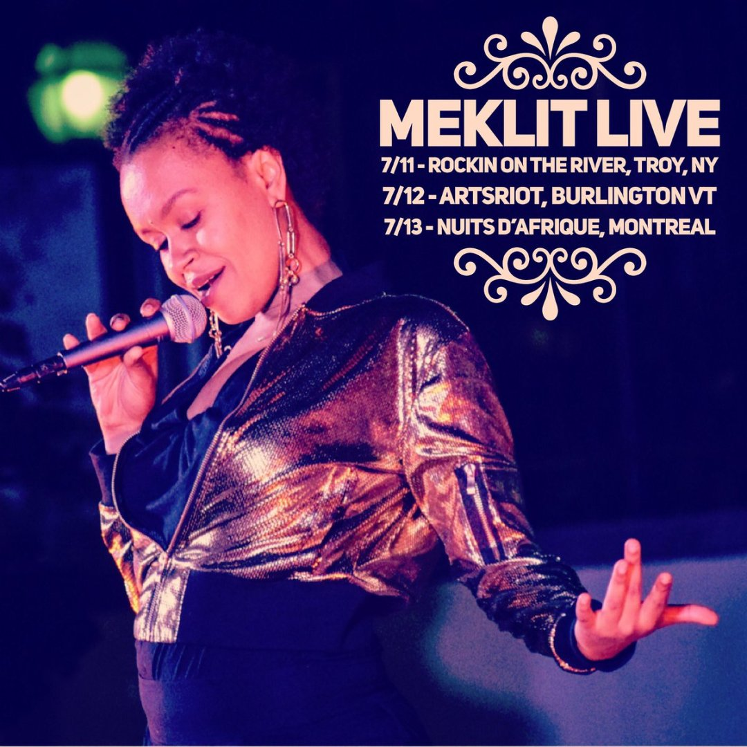 Meklit On The Road, Starts Today in New York