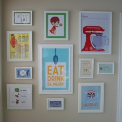 Art For The Kitchen Appliances Small Kitchens Wall Six Different Ways I