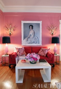 pink-living-room-2 | Six Different Ways