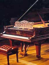 Piano as metaphor for allowing beauty into our home