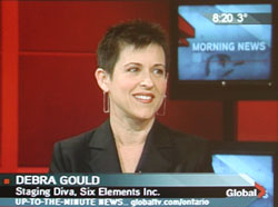 Debra Gould on GlobalTV