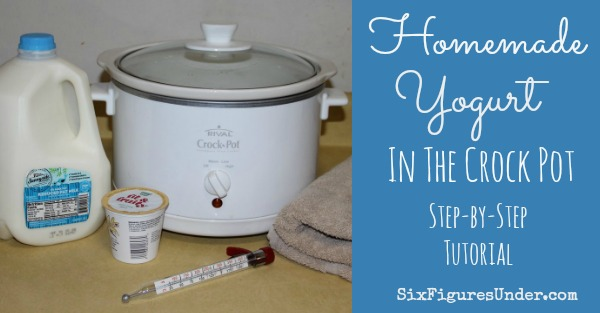 Homemade Yogurt in the Crock Pot FB