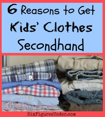 "As long as they are in good condition, they fit well, and we think they are cute, we have no problem with used clothes You can call them ""pre-owned"" or ""pre-worn"" if it makes you feel better. Here are six of the reason why we buy kids clothes secondhand."