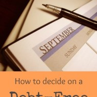Deciding on a Debt-Free Date