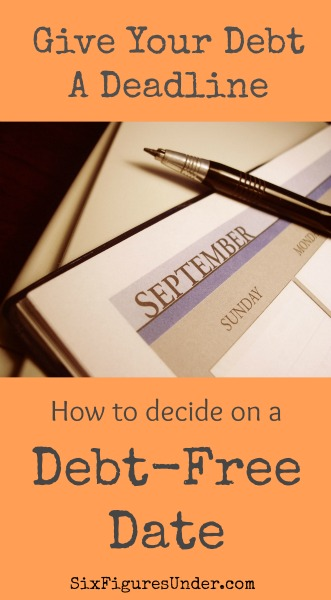 """If you are currently working on paying off debt, have you set a """"debt-free date""""-- a date on the calendar when you plan to be completely out of debt? If you haven't set one, you should! Here's how!"""