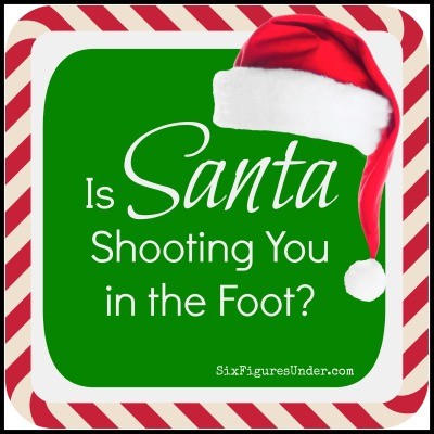 Oh you better watch out… and I'm not talking about being naughty or nice. I'm talking about raising kids. Is Santa helping or hindering your parenting goals? Is Santa over-stepping his bounds? Is Santa shooting you in the foot? Here are some important parenting considerations when it comes to Santa.