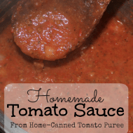 🍅Homemade Tomato Sauce from Tomato Puree 🍅