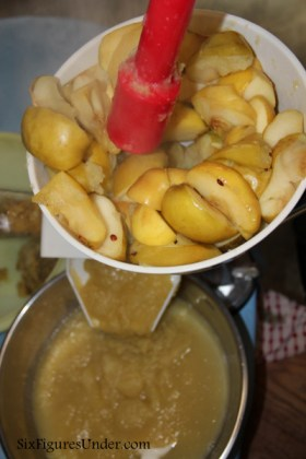 Making and Canning Homemade Applesauce