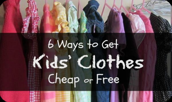 cheap kids clothes
