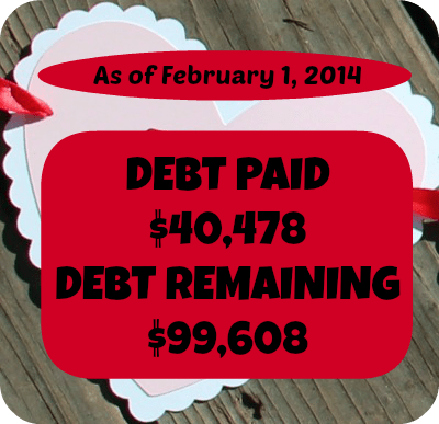 Deby payoff stats feb 1 2014