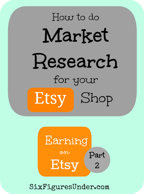 You can find out a lot about what sells (and what doesn't) and for how much by doing a little detective work on Etsy. I will show you what has worked well for me. Feel free to share your own advice and experience as well!