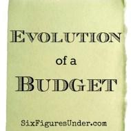 Evolution of a Budget