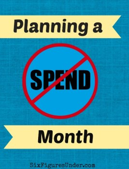 Planning a NO-SPEND Month