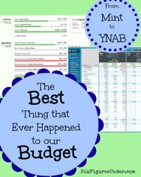 The Best Thing that Ever Happened to Our Budget-- Switching from Mint to YNAB