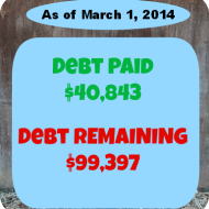 February 2014 Debt Repayment Progress Report