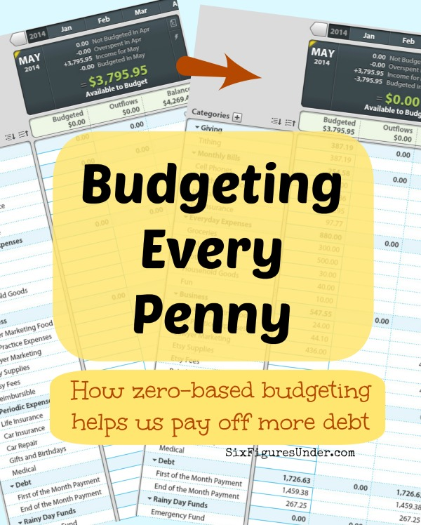 How and why we budget every penny! Zero-based budgeting will let you take charge of exactly where each dollar goes. You will pay off debt faster and save more by budgeting down to zero.