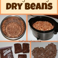 How To Cook and Freeze Dry Beans