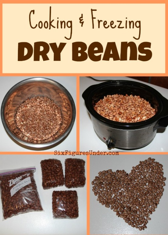 I would choose dry beans over canned beans any day. Besides being much cheaper, they are also healthier and more delicious. Cooking and freezing dry beans makes them super convenient as well!