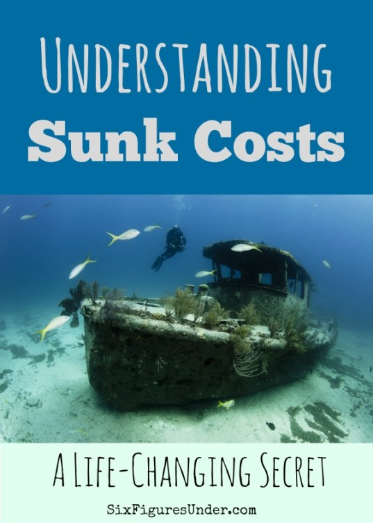 We make irrational decisions based on sunk costs all the time. Recognizing and discarding sunk costs in future decisions is a powerful way to make more solid personal finance decisions.