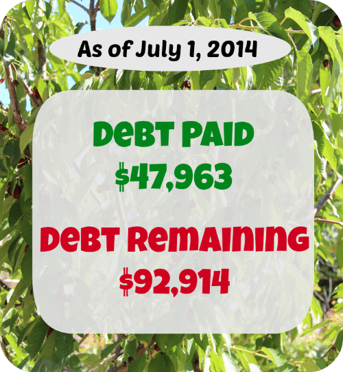 At SixFiguresUnder.com Personal Finance is made Public. Every month we will update you on the money we earned, spent, and paid toward debt. Here's June's report!