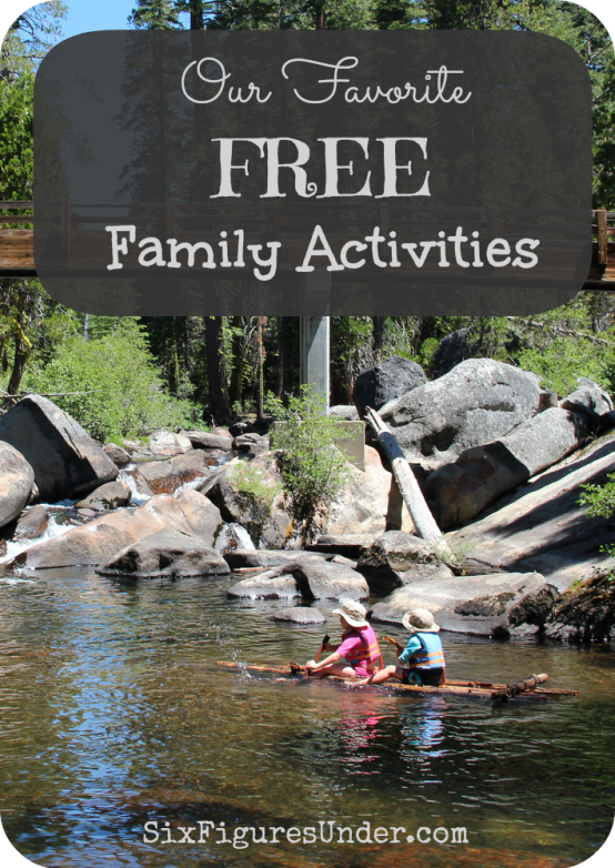 Fun definitely isn't measured by the money you spend. In fact, free family activities may even be more fun because you won't need to get out your wallet! Here are some of our favorite free family activities from this summer!
