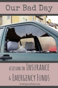 On Insurance and Emergency Funds (and a bad day)