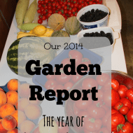 2014 Garden Report– The Year of Guilt and Gratitude