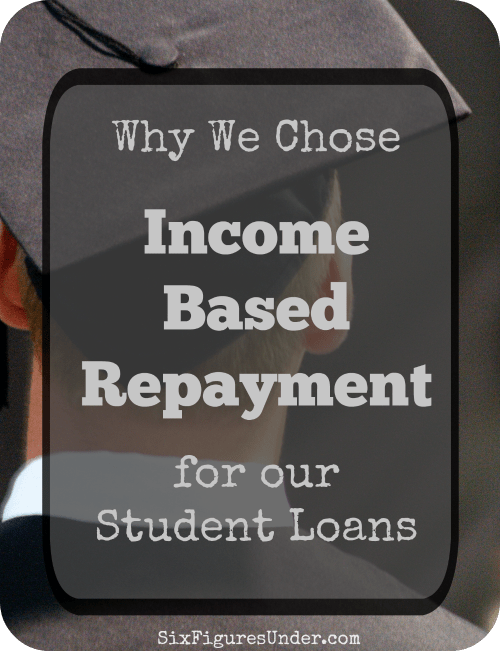 Income Based Repayment (IBR) offers great flexibility which has been key for making serious progress on paying off our student loans. Is it right for you?