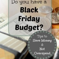 Do You Have a Black Friday Budget?