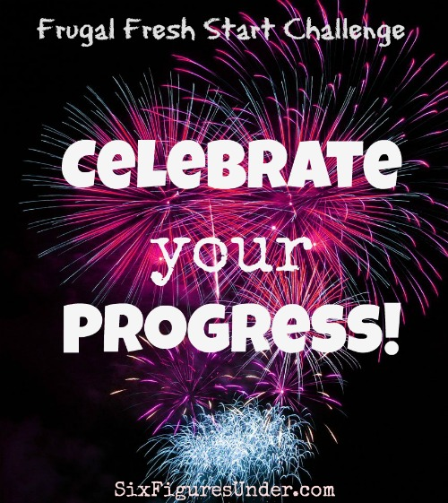 Taking time to enjoy and celebrate your progress is an important part of staying motivated, especially for a goal that could require a change in habits and some renewed self-control. It's time to celebrate!