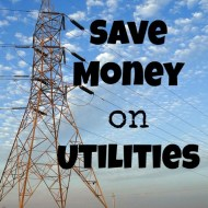 Save Money on Utilities– Frugal Fresh Start- Day 15