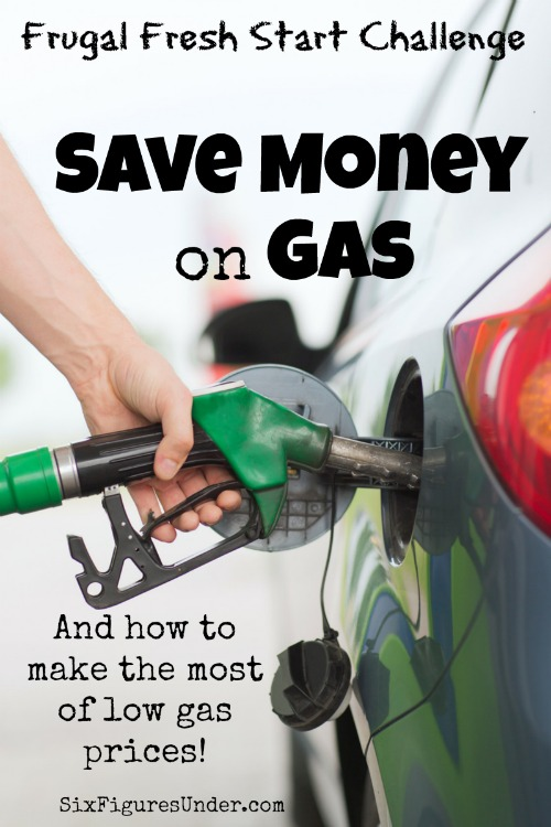 Gas is one of those expenses that we just have to suck up and pay. While we don't have control over the gas price, we can save money on gas in lots of other ways. Plus, here's how we make the most of low gas prices!