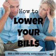 Lower Your Bills– Frugal Fresh Start- Day 9