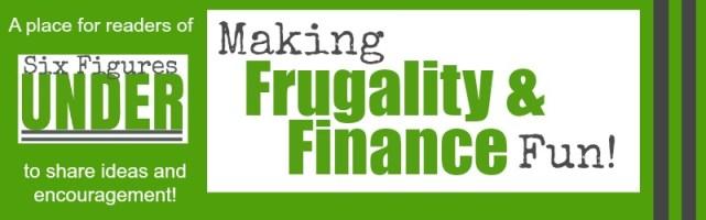 A place where readers of SixFiguresUnder.com can share ideas and encouragement to reach their financial goals.
