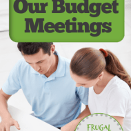 Hold Monthly Budget Planning Meetings