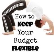 Keep Budgeting Flexible– Frugal Fresh Start Day 11
