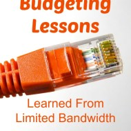Budgeting Lessons Learned from Limited Bandwidth
