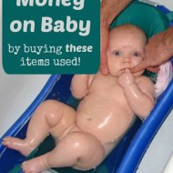 Baby Things You Can Buy Used or Borrow