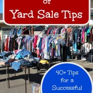 Ultimate List of Yard Sale Tips