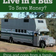 Would You Live in a Bus to Save Money?
