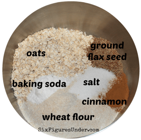 Everything Muffins- dry ingredients