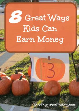8 Great Ways Kids Can Earn Money