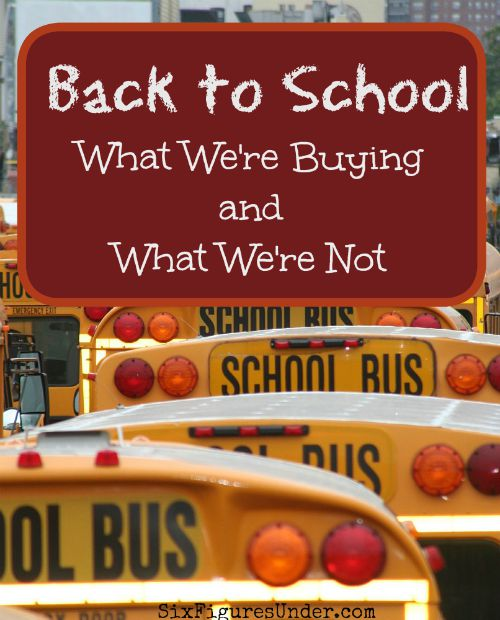 "If you're looking for ways to save on back-to-school shopping, staying home may be your best bet. Here's how we focus on what the kids need, instead of buying everything ""just because."""