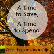 A Time to Save, A Time to Spend